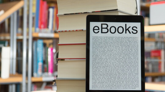 How do libraries work with ebooks?