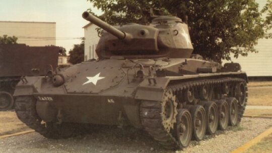 M-24 Chaffee Light Tank
