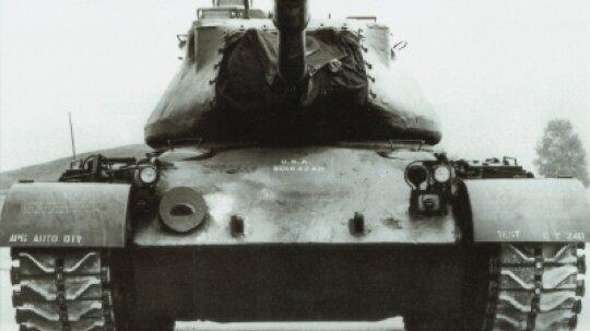 M-47 General George S. Patton Medium Tank