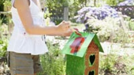 How to Make a Recycled Bird House