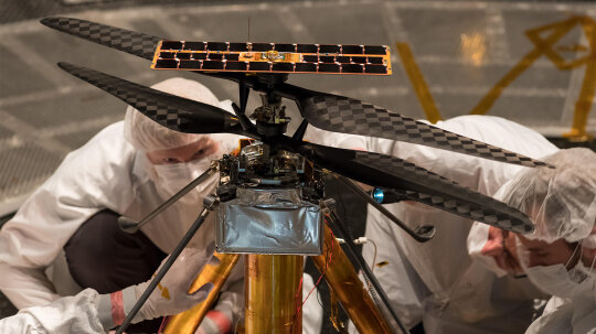Can a Helicopter Fly on Mars? NASA Says Yes