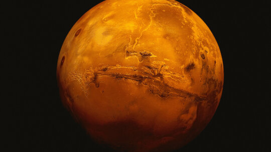 Something Produced a Surprising Spike of Methane on Mars