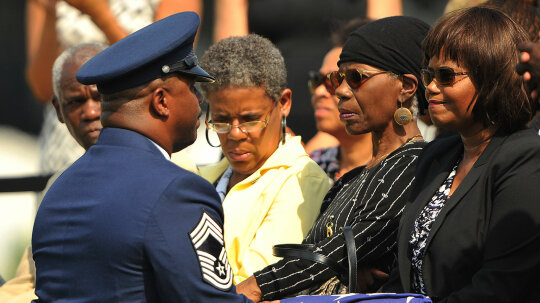 Military Funerals Give Service Members and Families One Final Salute