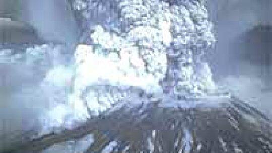 Mount St. Helens Erupts