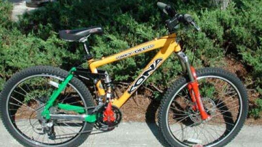 How Mountain Bikes Work