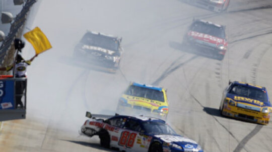 What was NASCAR's gentleman's agreement?