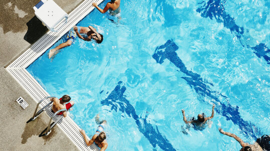 Code Brown: Pools Are Nasty, Study Says