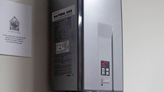 What natural gas home appliances are available?