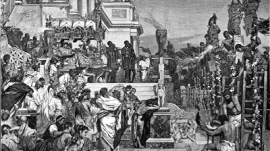 Did Nero really play the fiddle while Rome burned?