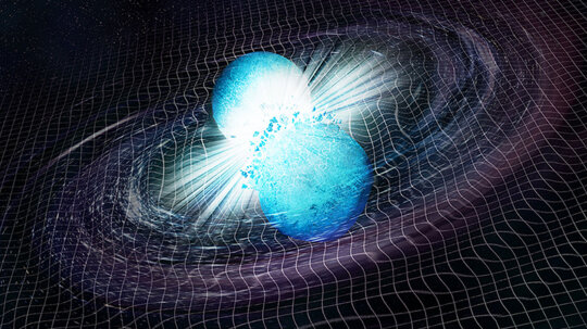 What Do You Get When Two Neutron Stars Collide?