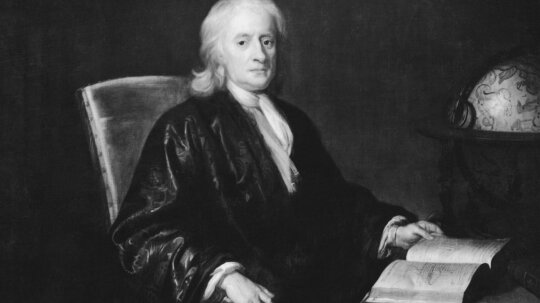Was Isaac Newton really hit in the head with an apple?