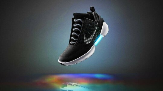 Self-lacing Shoe Future Arrives With Nike's HyperAdapt 1.0
