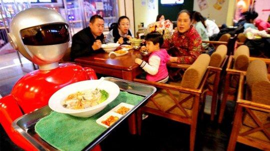 Chinese Restaurants Fire Robot Servers, Forestalling Robot Apocalypse