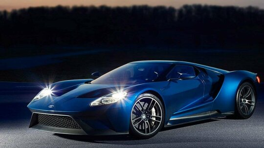 """The Ford GT and Gorilla Glass - A Match Made in…好吧,实验室""""border="""