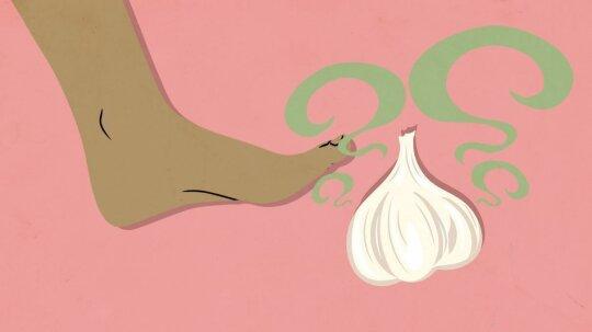 Your Feet Can Taste Garlic