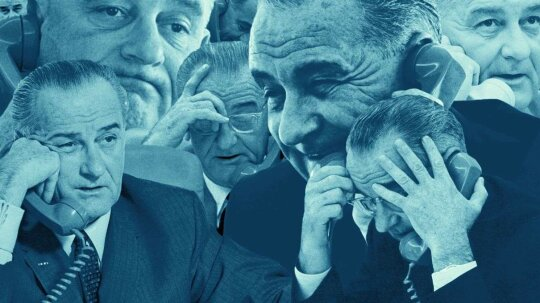 Ridiculous History: LBJ Talked on the Phone More Than a Teenager