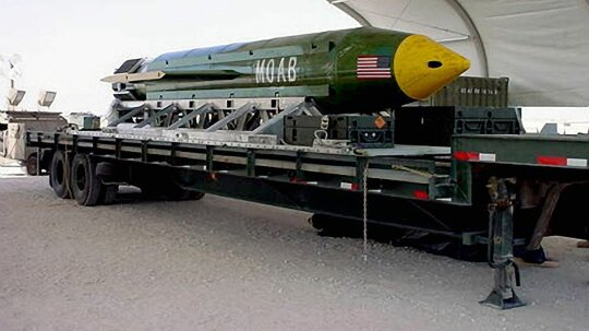 The Mother of All Bombs Is Big But It's No Nuke