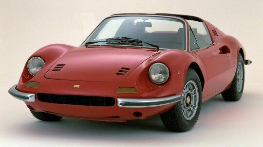 The Strange Case of the Buried Ferrari