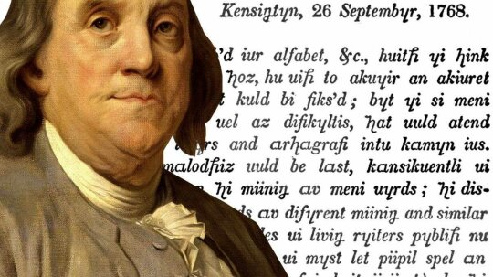 Ridiculous History: When Benjamin Franklin Remade the Alphabet