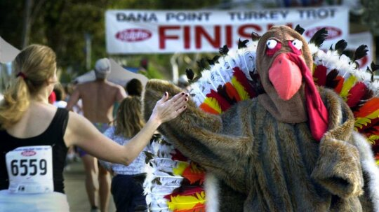Could Turkey Trots Get a Whole Nation to Run?