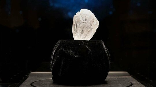 This One's More Than Two Months' Salary: World's Largest Diamond Up for Auction