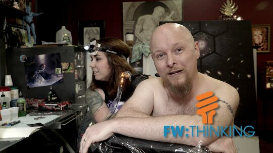 I Got Tattooed With a Protostar … For Science!