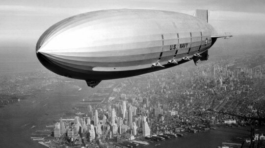 Ridiculous History: The U.S. Navy Used Dirigibles as Flying Aircraft Carriers
