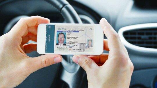 """驾驶执照在手机上?有一个应用程序""""border="""