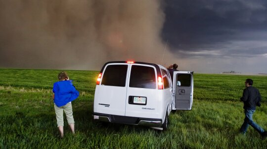 Can you really outrun a tornado?