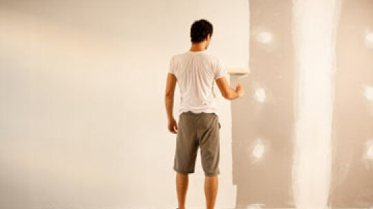 How to Paint Drywall