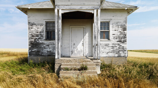 Who owns an abandoned house?
