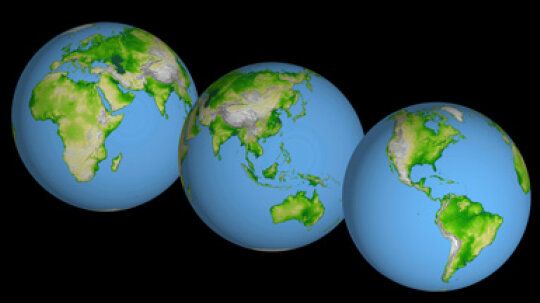 How did the supercontinent Pangaea become seven separate continents?