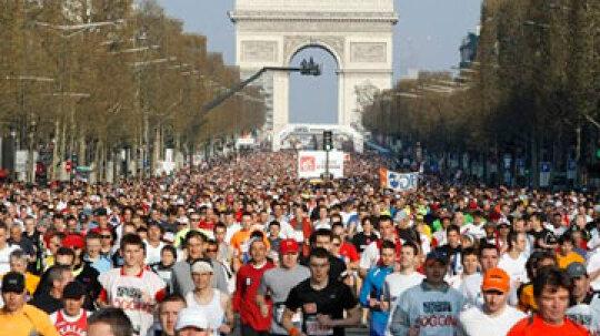 How the Paris Marathon Works