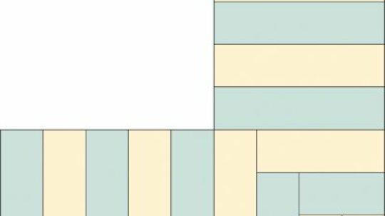 Piano Keys Quilt Border Pattern