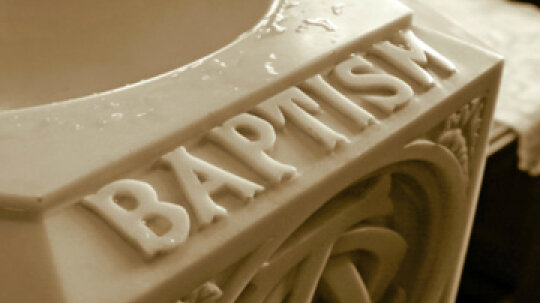 How to Plan a Baptism