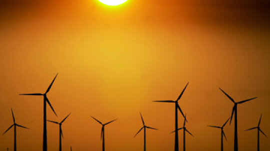 Could we power all cars entirely from wind power?