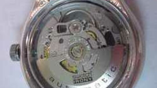 How does a self-winding watch work?