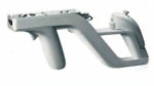 How does the light gun for a video game work?
