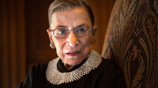RBG's Iconic Collars Spoke Volumes