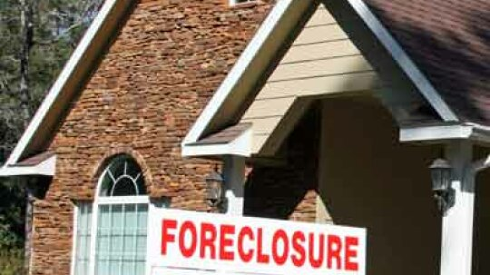 What's the No. 1 reason for foreclosure?