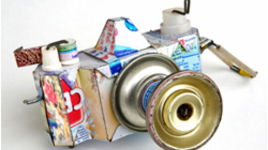 Raid the Recycling Bin: 10 Recycled Crafts
