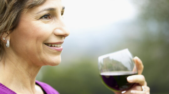 Is red wine really good for you?