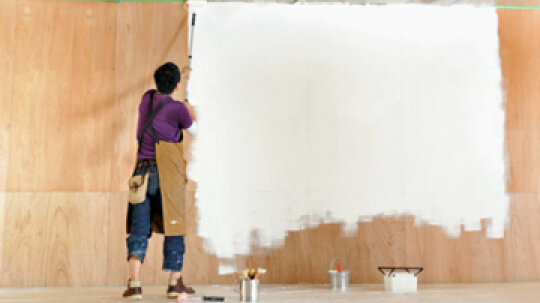 How to Repaint Stained Walls