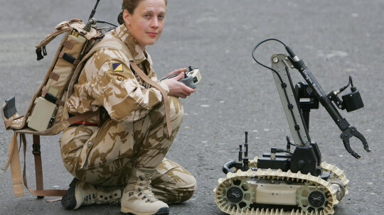 Are robots replacing human soldiers?