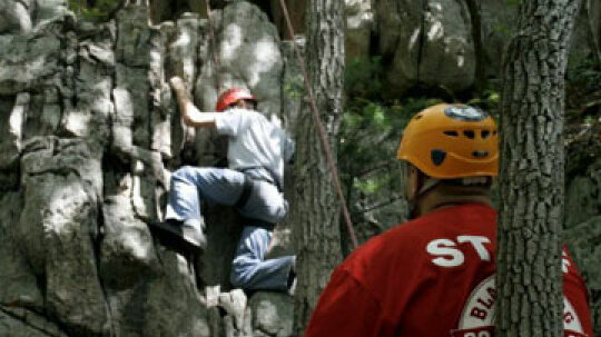 What are the most common rock climbing terms?