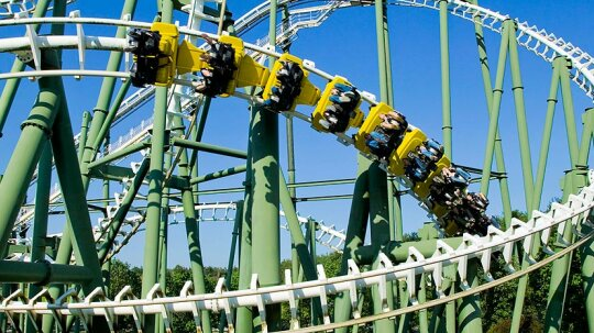 What if I were on a roller coaster and the safety harness broke?