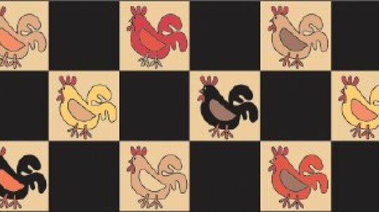 Rooster Quilted Table Runner Pattern