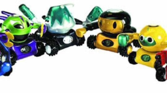How Rumble Robots Work