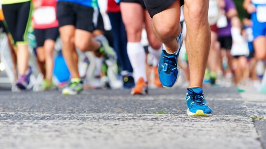 Is it possible to run a marathon backward?