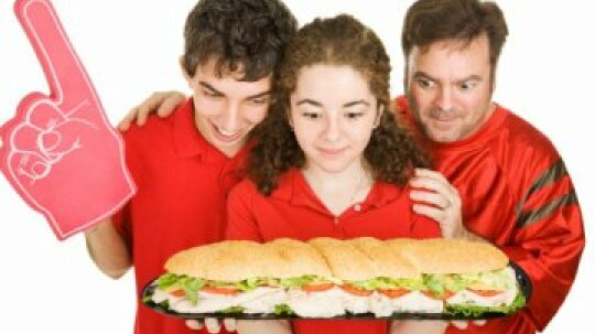 What was the world's biggest sandwich?
